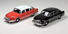 1/43 IST DeAgostini Tatra 603 & 603-1 ***Lot of 2*** Diecast Cars