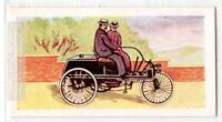 Knight's 1895 Three Wheel Tiller Steered Motor Car Vintage Trade Ad Card