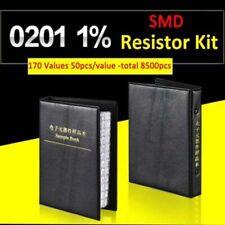 0201 Smd Resistor Sample Book 1 Component Assortment Kit 170 Values Each 50pcs