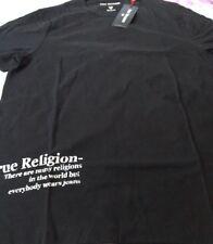 True Religion Snake Skull Back Printed Logo T-Shirt SZ Medium BNWT