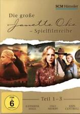 "3 DVDs Box ""Die große Jeanette Oke Spielfilmreihe"" (2003-2005) Katherine Heigl"