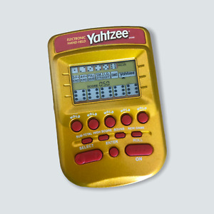 Yahtzee Electronic Handheld Game - VGC/Vintage/Tested/Working/Road Trip/Camps 🐙