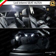 KIT LED INTERNI ABITACOLO SEAT ALTEA KIT COMPLETO CANBUS 6000K BIANCO