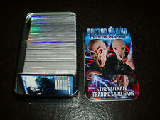 Doctor Who Monster Invasion Trading Cards & Tin nos 166-471 very few missing