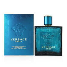 VERSACE EROS PERFUMED DEODORANT SPRAY 3.4 OZ / 100 ML NEW IN SEALED BOX