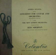 Tedesco(Vinyl LP)Concerto For Guitar And Orchestra-Columbia-33CX 1020-UK-VG-/VG