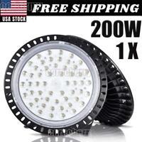 200W 200 Watt UFO LED High Bay Light Shop Lights US Garage Lamps Highbay Grow