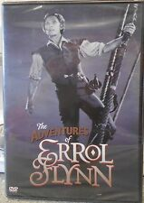 The Adventures of Errol Flynn (DVD, 2005) RARE TV MOVIE DOCUMENTARY BRAND NEW