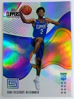 2018-19 Panini Status Shai Gilgeous-Alexander Rookie RC #156, Clippers