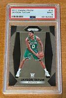 Jayson Tatum PSA 9 2017 PANINI Prizm Base #16 ROOKIE RC Boston Celtics