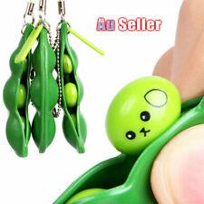 Anti Stress Squeeze Pendant Toy Pokebean Squishy Bean Fidget Gadget Key ring