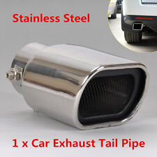 DIY Fashion 63mm Auto Modification Stainless Steel Exhaust Pipe Tip End Muffler