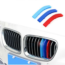 M-Color Sport 3D Kidney Grill Grille Bar Cover Trim For BMW 5 F11 2014-2017