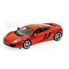 MINICHAMPS 1/18 SCALE MCLAREN 12C - 2011 - ORANGE METALLIC