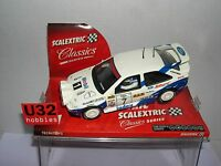 qq SCALEXTRIC 6258 FORD ESCORT RS COSWORTH #7 1000 LAKES TOMMI MAKKINEN
