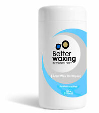 Better Waxing Oil  After Wax Wipes 100pk (OFFICIAL STOCKIST)