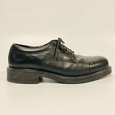 Bass Black Oxford Leather Lace Up Dress Shoes Men Size 11 Model 6033