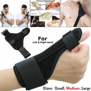 Medical Wrist Thumb Hand Spica Splint Support Brace Stabiliser Arthritis Use