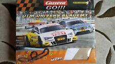 Carrera GO DTM Drivers Academy Auto Rennbahn *gebraucht*