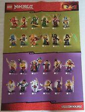 LEGO® Ninjago Poster  'Figuren 2015' Charaktere  Neu