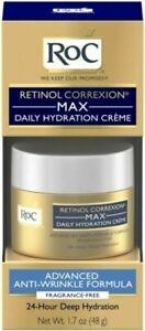 RoC Retinol Max Daily Hydration Fragrance free Anti-Wrinkle Formula- Exp.08/21