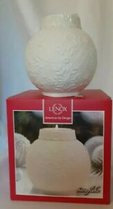 Candle Holders x 2  Ornaments  Glow Snowflake Votive By Lenox