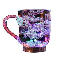 Automatic LED Dragon Flashing Cup Mug Bar Water Sensor Colorful Luminous Cup