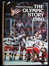 1980 PURSUIT OF EXCELLENCE: THE OLYMPIC STORY BY ASSOCIATED PRESS & GROLIER