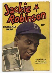 Jackie Robinson #0 GD+ 2.5 1950