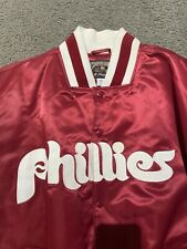 Authentic Majestic Cooperstown Collection Philadelphia Phillies Jacket size XL