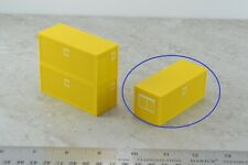 Herpa 20' Construction Office Container Yellow 1:87 HO Scale
