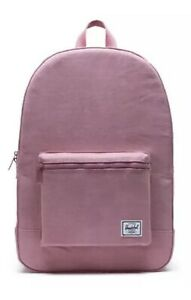 Herschel Supply Company Backpack Heather Rose Cotton Unisex Day Pack 24.5 L NWT