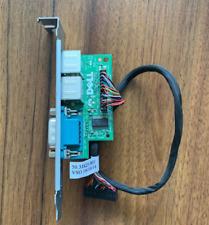 Dell 3080 MT 5080 7080 Serial Port PS/2 RS232 COM DB9 Card W/Cable