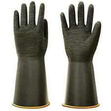 Thxtoms Heavy Duty Rubber Gloves Versatile Latex Chemical Resistant Gloves