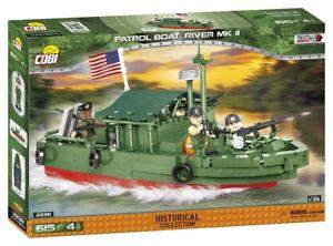 Cobi 2238 - Small Army - WWII Patrol Boat, River MK II - Neu