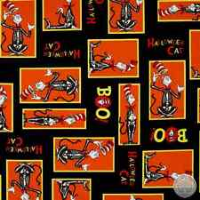 Dr Seuss Spooktacular 15304-283 Cat in the Hat Halloween Cotton Fabric by Yard