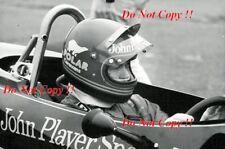 Ronnie Peterson JPS Lotus 76 Testing F1 Season 1974 Photograph 3