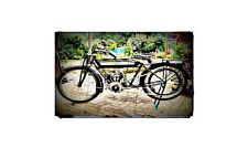 1911 humber Bike Motorcycle A4 Retro Metal Sign Aluminium