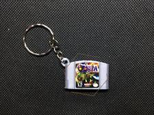 Zelda Majoras Mask 3D CARTRIDGE KEYCHAIN Nintendo 64 N64 collectible