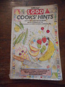St Michael 1,000 Cooks' Hints Tips From Cordon Bleu Cookery School