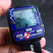 NEW RARE 80'S  NELSON GHOSTBUSTER GAME LCD QUARTZ MEN WATCH