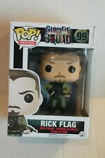 Funko Pop! Heroes Suicide Squad Rick Flag Vinyl Figure #99 NEW
