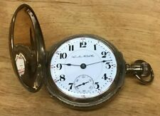 Case - 17 Jewels - 925 Movement Hamilton Pocket Watch - Lever Set - Hunter