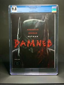 Batman Damned #1 - CGC 9.8 - Lee Bermejo Cover and Art / First DC Black Label