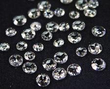 Rose cut Natural loose diamond VS White G color 2.00 MM  5 pcs parcel