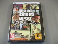 GTA San Andreas Neuf dans sa boîte/film. degrés THEFT AUTO espagnole Housse