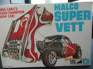 MPC Malco Super Vett Model Kit 1970's