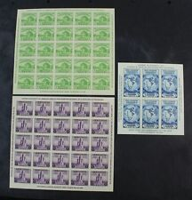 CKStamps: US Stamps Collection Scott#730 731 735 Unused NH NGAI