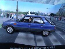 1/43 Renault 11 James Bond A View to Kill 007 series diorama