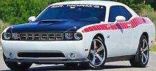 Challenger Mr. Norms Signature GSS Cuda Strobe Stripes Stripe Decals Emblems